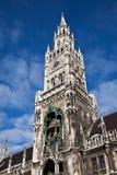 Het Stadhuis van München, Duitsland Stock Afbeelding
