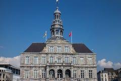 Het Stadhuis van Maastricht Stock Afbeelding
