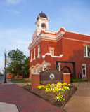 Het Stadhuis van Manassas in Virginia Stock Afbeelding