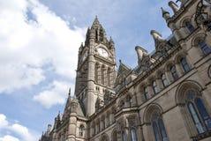 Het Stadhuis van Manchester Stock Foto's