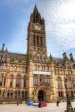 Het Stadhuis van Manchester Stock Afbeelding