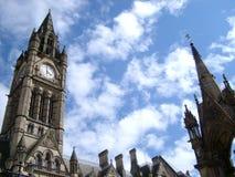 Het Stadhuis van Manchester Stock Foto