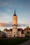 Het stadhuis van Mogilev stock afbeeldingen
