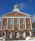 Het Stadhuis van New England. Stock Foto's