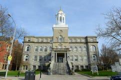 Het Stadhuis van Nieuwpoort, Rhode Island, de V.S. Stock Afbeeldingen
