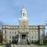 Het Stadhuis van Nieuwpoort, Rhode Island, de V.S. Stock Foto's
