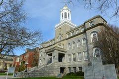 Het Stadhuis van Nieuwpoort, Rhode Island, de V.S. Stock Afbeelding