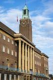 Het Stadhuis van Norwich Stock Fotografie