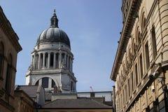 Het Stadhuis van Nottingham stock foto's