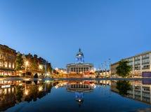 Het Stadhuis van Nottingham, Engeland stock afbeeldingen