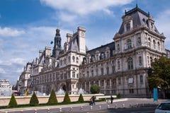 Het Stadhuis van Parijs royalty-vrije stock fotografie