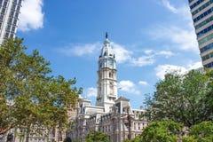 Het Stadhuis van Philadelphia - Amerikaans nationaal historisch oriëntatiepunt royalty-vrije stock afbeeldingen