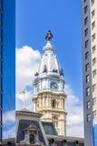 Het Stadhuis van Philadelphia van Zuiden Brede Straat, Pennsylvania - Amerikaans nationaal historisch oriëntatiepunt royalty-vrije stock fotografie