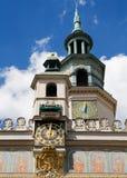 Het STADHUIS van Poznan Royalty-vrije Stock Afbeeldingen
