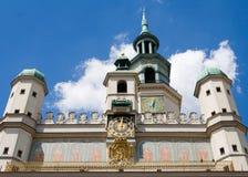 Het STADHUIS van Poznan Stock Afbeeldingen