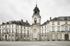 Het Stadhuis van Rennes. Stock Foto