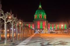 Het Stadhuis van San Francisco Stock Afbeeldingen