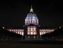 Het Stadhuis van San Francisco Royalty-vrije Stock Foto