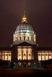 Het Stadhuis van San Francisco, Californië royalty-vrije stock afbeeldingen