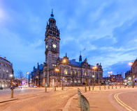 Het stadhuis van Sheffield Stock Foto's