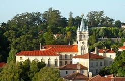 Het stadhuis van Sintra Stock Foto's