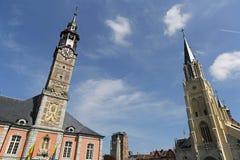 Het stadhuis van Sinttruiden - 06 Stock Afbeelding