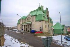 Het stadhuis van Strömstad (Zweden) Stock Afbeelding