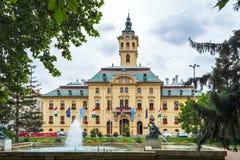 Het stadhuis van Szeged royalty-vrije stock afbeelding