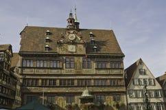 Het Stadhuis van Tübingen royalty-vrije stock afbeelding