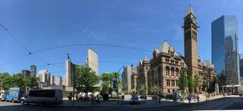 Het Stadhuis van Toronto stock foto