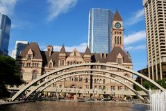 Het Stadhuis van Toronto Stock Foto's