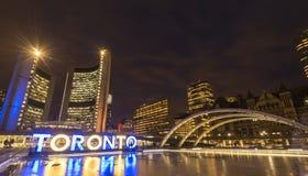 Het Stadhuis van Toronto Stock Afbeeldingen