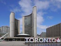 Het Stadhuis van Toronto ` s Stock Afbeeldingen