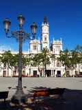 Het Stadhuis van Valencia Stock Foto