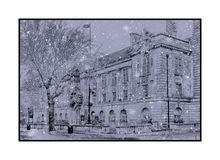 Het Stadhuis, Walsall vector illustratie