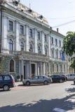 Het stadhuispaleis in Sighetu Marmatiei Royalty-vrije Stock Afbeeldingen