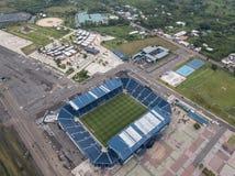Het stadion stock afbeeldingen