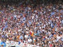 Het stadion Stock Fotografie