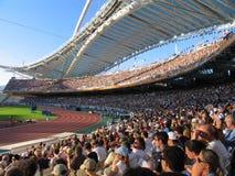 Het stadion Stock Foto's