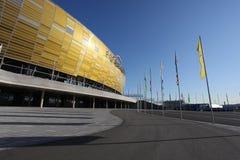 HET STADION VAN 2012 VAN DE EURO VAN UEFA - PGE ARENA, GDANSK, POLEN Royalty-vrije Stock Foto