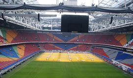 Het stadion van Ajax Royalty-vrije Stock Fotografie
