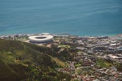 Het Stadion van Cape Town Stock Foto's