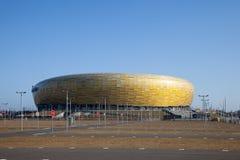 Het stadion van de Arena PGE Stock Afbeeldingen