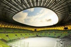 Het stadion van de Arena PGE voor 43.615 toeschouwers Stock Foto