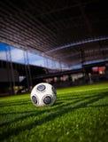 Het Stadion van de Bal van het voetbal Stock Fotografie