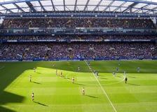 Het Stadion van de Club van de Voetbal van Chelsea stock foto's