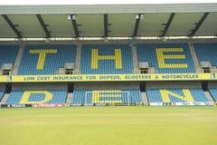 Het stadion van de Club van de Voetbal van Millwall stock afbeelding