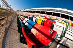 Het stadion van de de motorspeedwaybaan van Charlotte Stock Foto