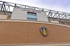 Het stadion van de Ellandweg in Leeds, West-Yorkshire Stock Fotografie