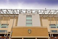 Het stadion van de Ellandweg in Leeds, West-Yorkshire Stock Afbeeldingen